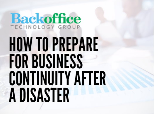 how to come up with a business continuity plan